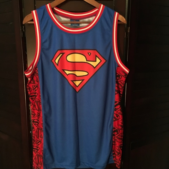 c31bae20f1a DC Comics Shirts | Superman Basketball Jersey Tank Top | Poshmark